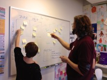 PAPER PROTOTYPING // A quick and fundamental way to test the core user experience