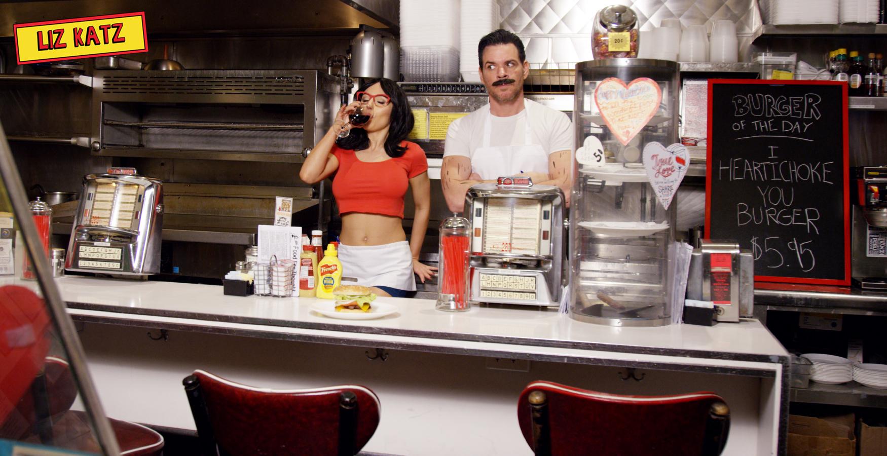 Liz Katz Bobs Burgers Cosplay I Heartichoke You Liz Katz