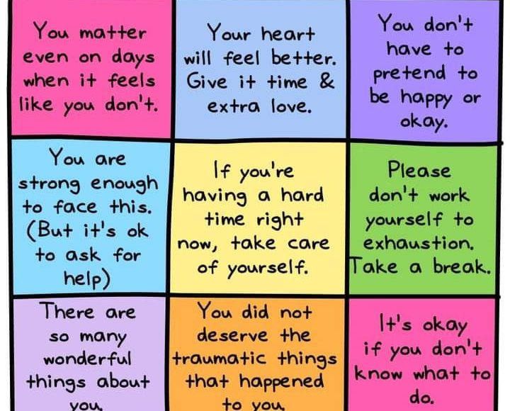 struggling? gentile reminders: basically, it's okay and take it easy.