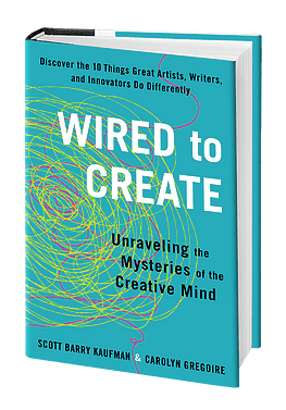 Book Swoon | Wired to Create: Unraveling the Mysteries of the Creative Mind by Scott Barry Kaufman and Carolyn Gregoire