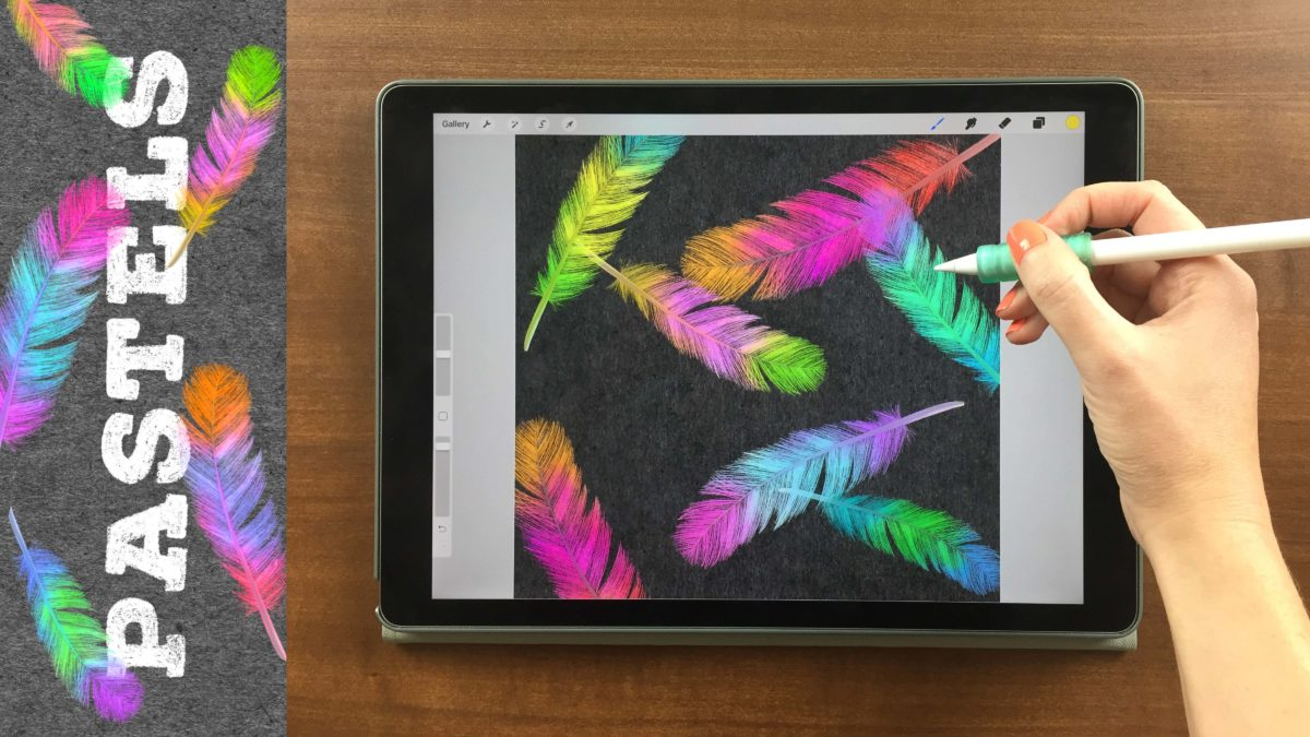 Create Soft Pastel Drawings on Your iPad in Procreate