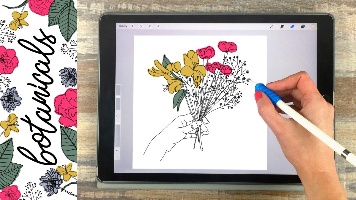 How to Create Botanical Illustrations on Your iPad in