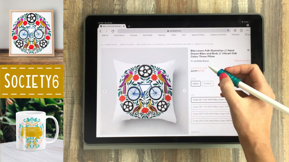 Society6 for iPad Artists and Designers