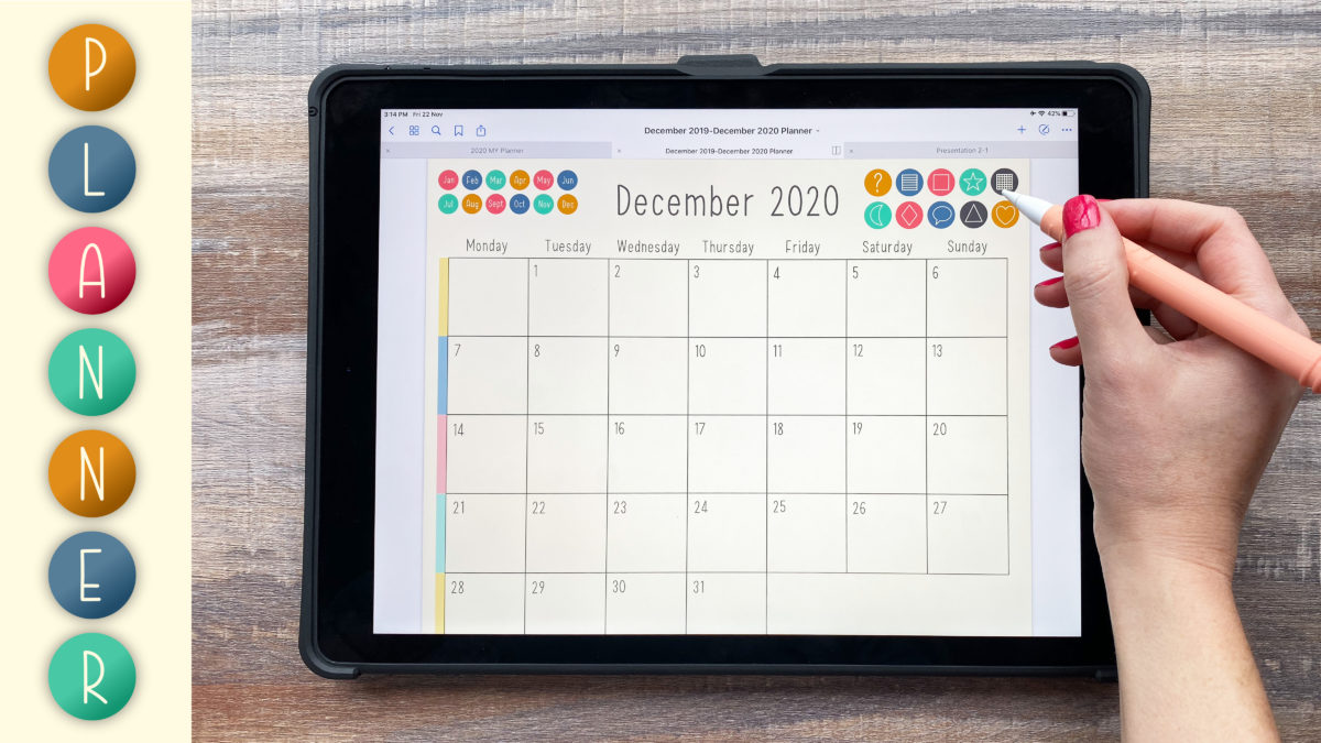 Learn to Design Professional Digital Planners with Vectors
