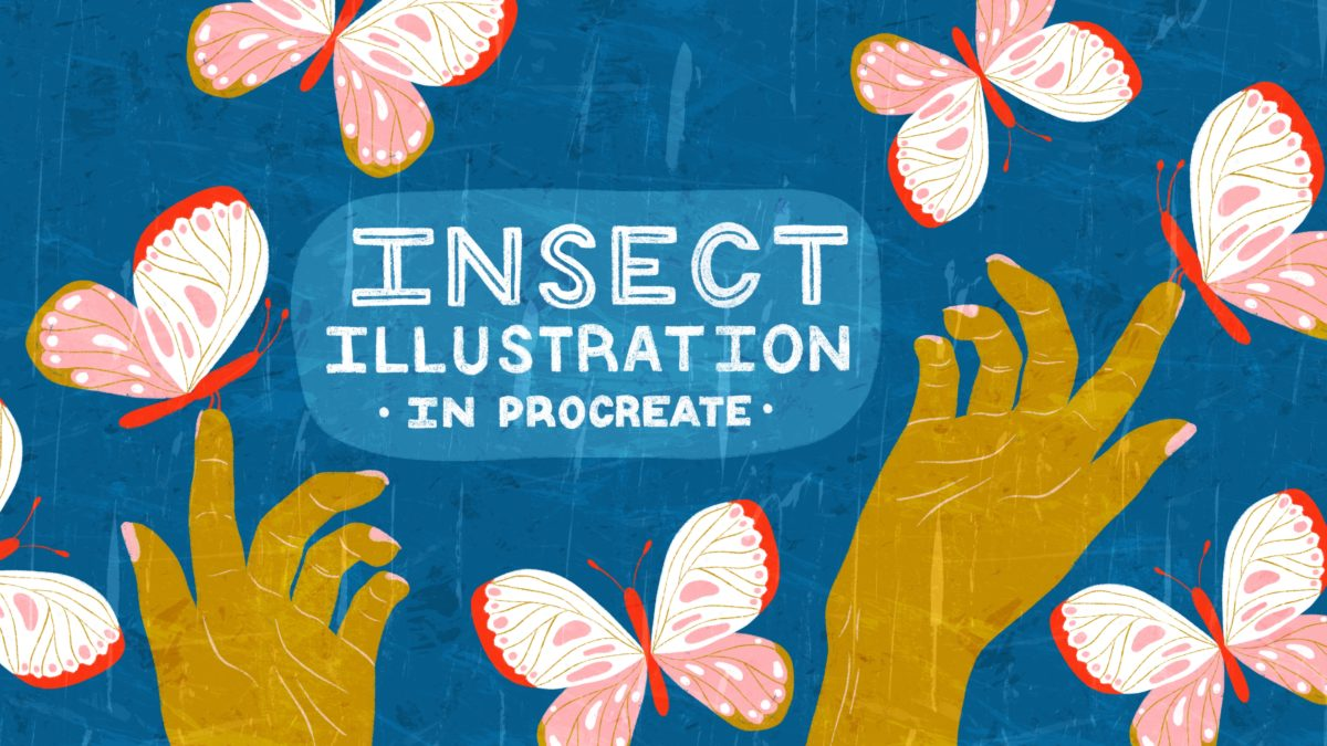 Insect Illustrations and Animations on Your iPad in Procreate
