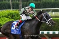 My Brown Eyed Guy (FL) with jockey Antonio Gallardo on board wins the Florida Stallion Stakes Affirmed Division IMG_4978cdB
