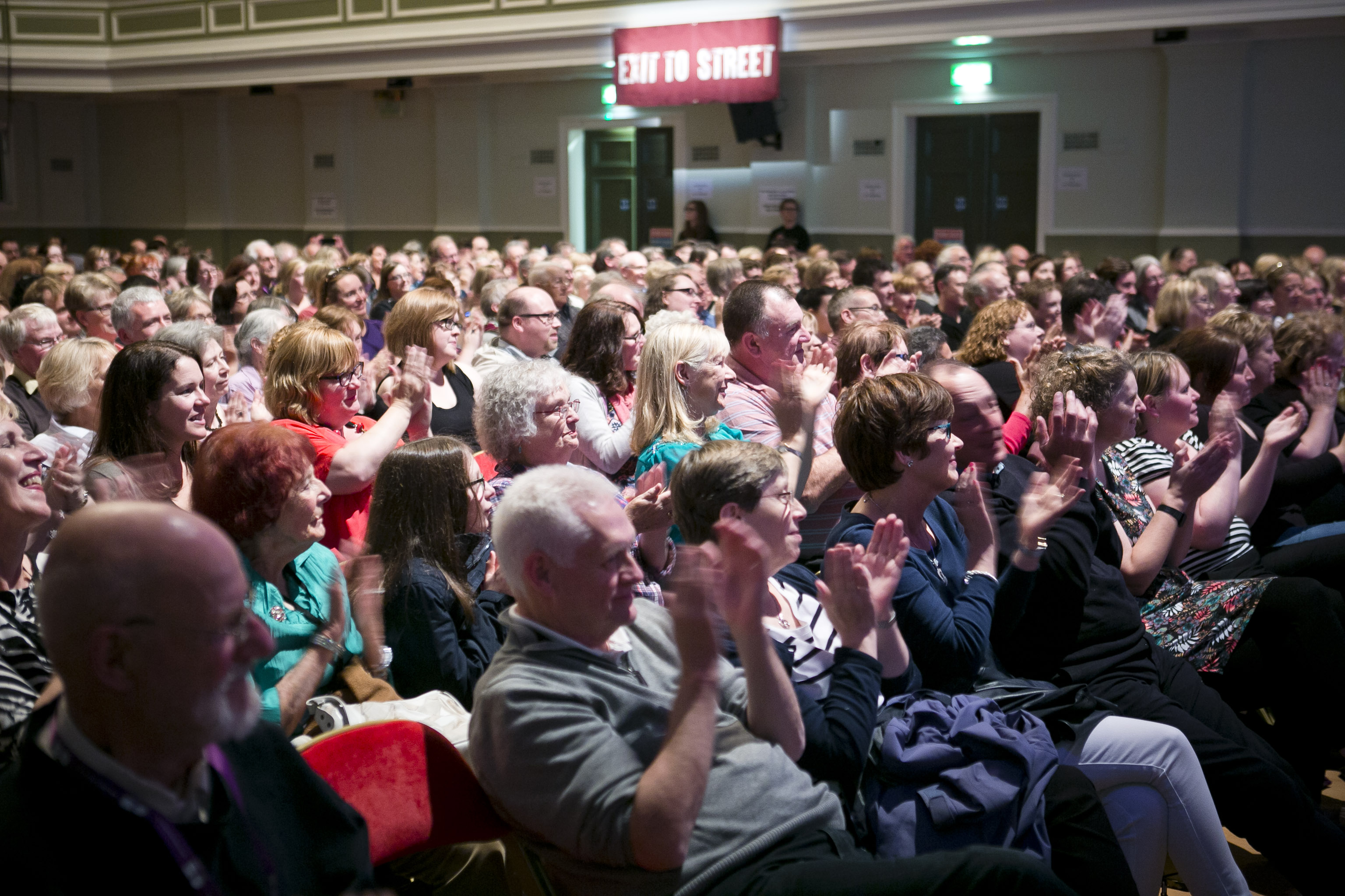 Image result for bloody scotland audience