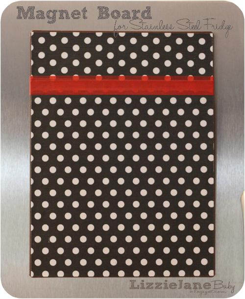 Magnet Board For Stainless Steel Fridge Liz On Call