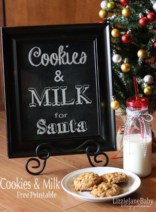 Cookies & Milk Print 1