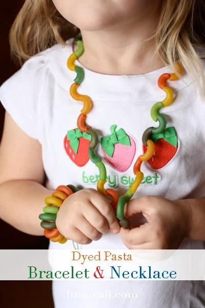 Pasta necklace & bracelet 1
