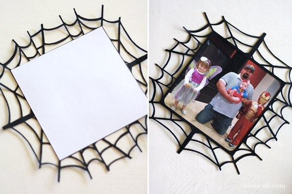 Spider Web frames with free cut file