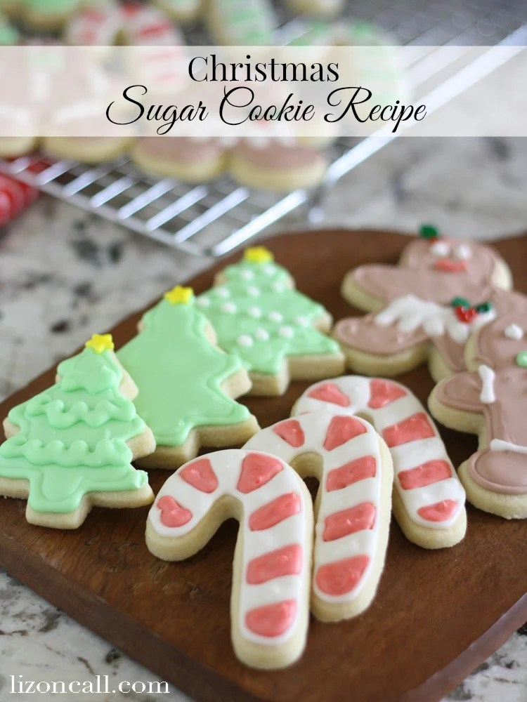 making cookies at christmas is a must at our house we make all different kinds of cookies but lately ive loved making these sugar cookies - Decorating Sugar Cookies For Christmas Pictures