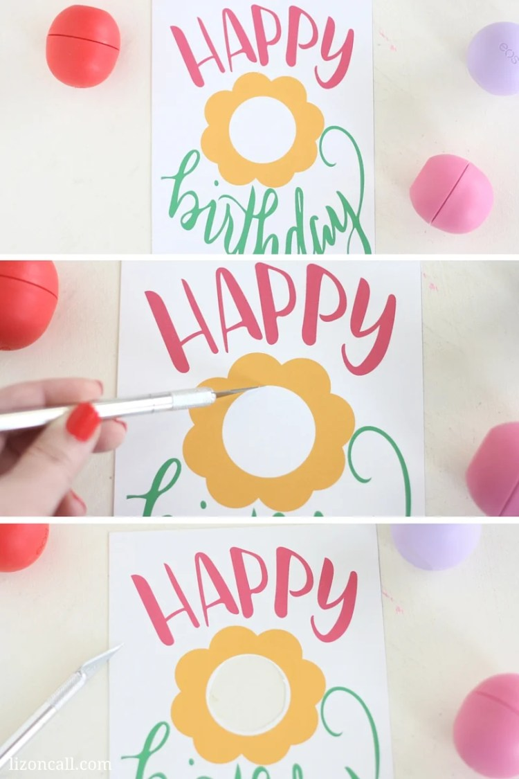 Free Printable EOS Happy Birthday Gift Card - Liz on CallHappy Gift Cards