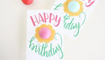10 quick and easy birthday gift ideas liz on call free printable eos happy birthday gift card negle Images