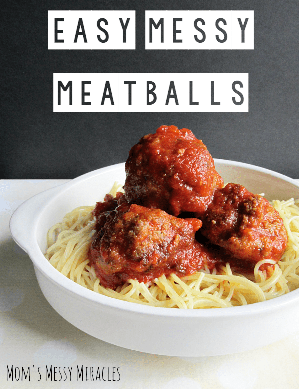 Easy-Messy-Meatballs