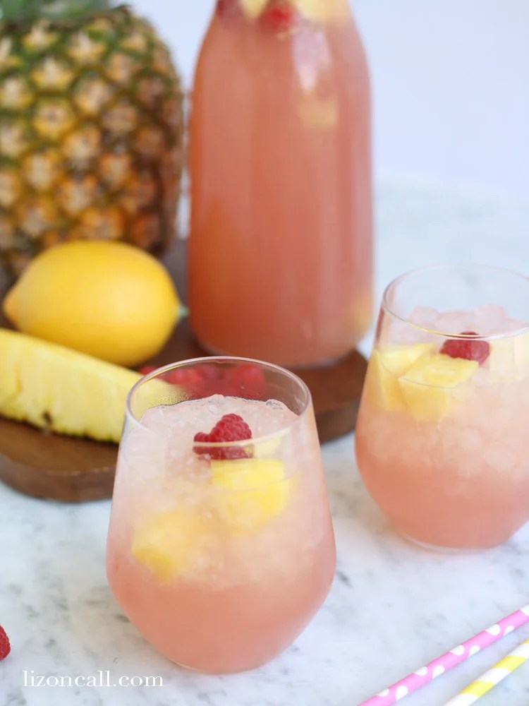 Easy Pink Party Punch Recipe Liz On Call