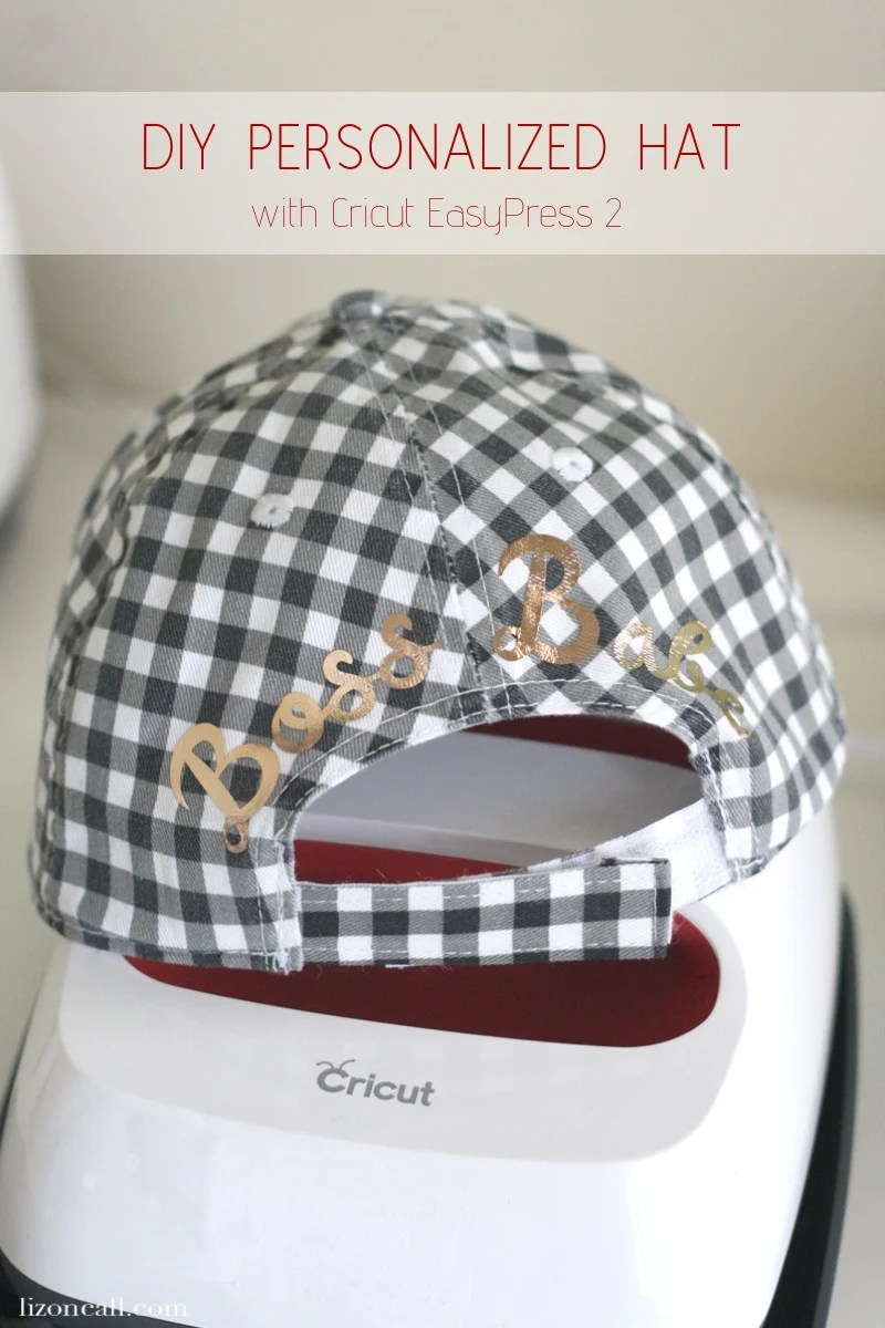 0c64bca91374fc ... Customized Hat. The possibilities with this fun DIY are endless. Use  the Cricut EasyPress 2 along with