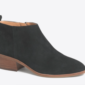 Jcrew factory sawyer suede boots black suede