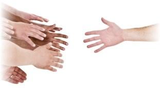 Helping hand(s)