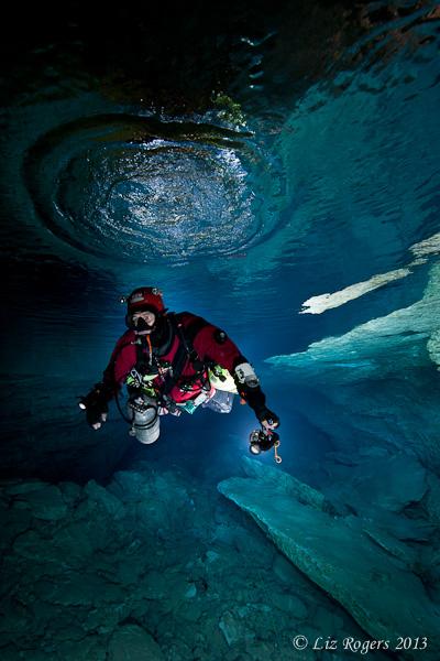 Ken under Lake Ayre