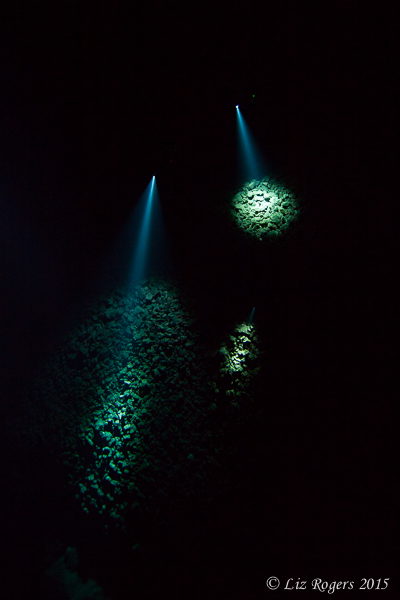 Light beams through the darkness