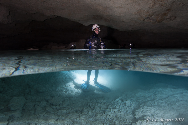 Underground air chamber