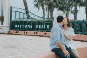Daytona Beach Engagement Photography