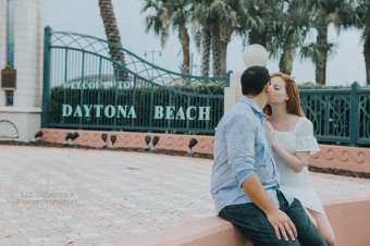 Daytona Beach Engagement Photography