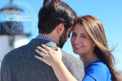 Engagement Photos at the Beach Brant Point Nantucket