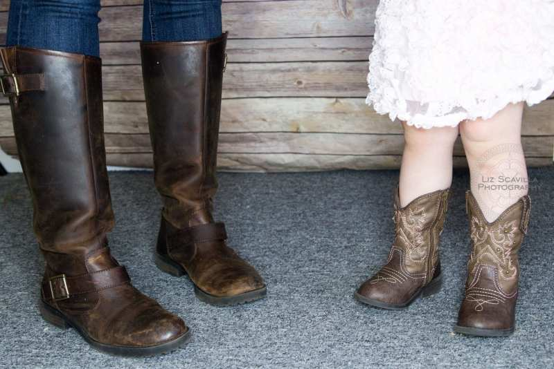 Mommy Daughter Cowboy Boots
