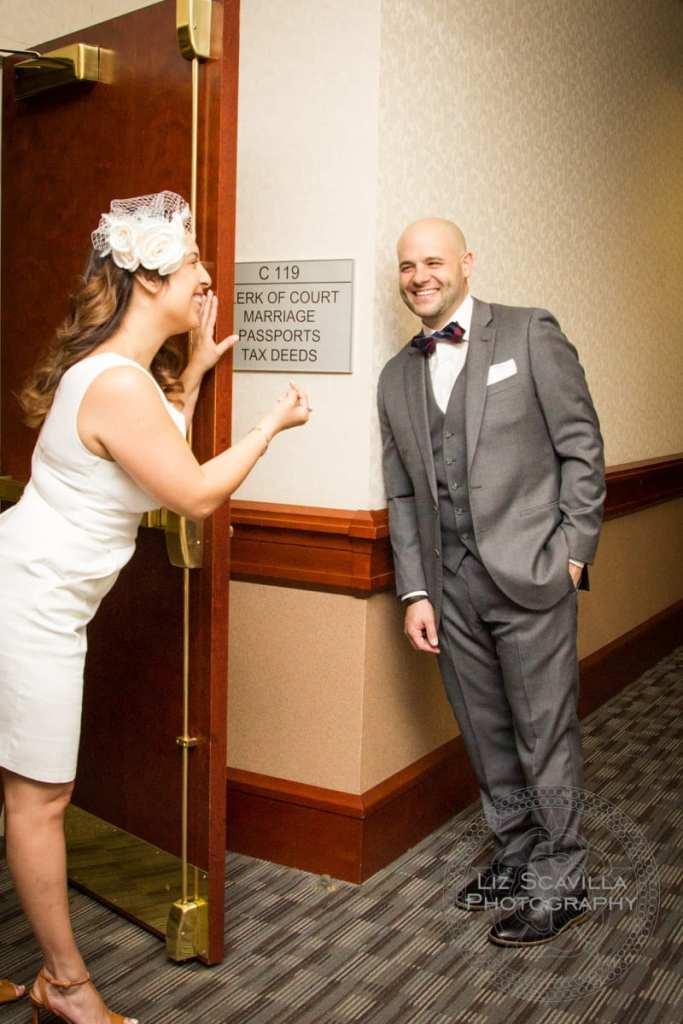 Bride Calling Groom