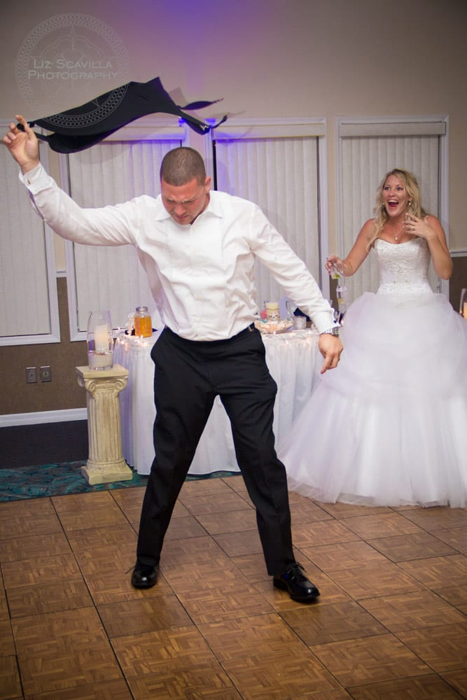 Dancing Wedding Guest