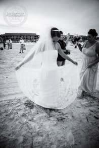 Bride Spinning In Dress