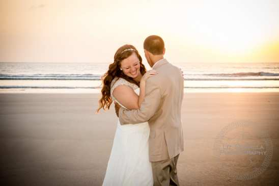 Katelyn Neal Daytona Beach Sunrise Wedding 3