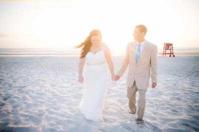 Katelyn Neal Daytona Beach Sunrise Wedding 8