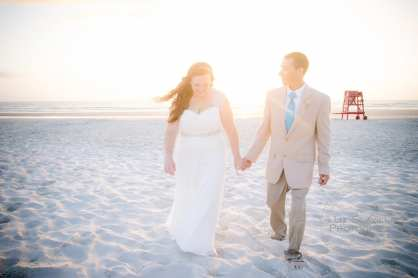 Katelyn Neal Daytona Beach Sunrise Wedding 8