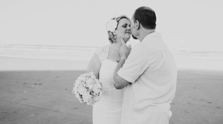 James & Charlotte's Beach Vow Renewal