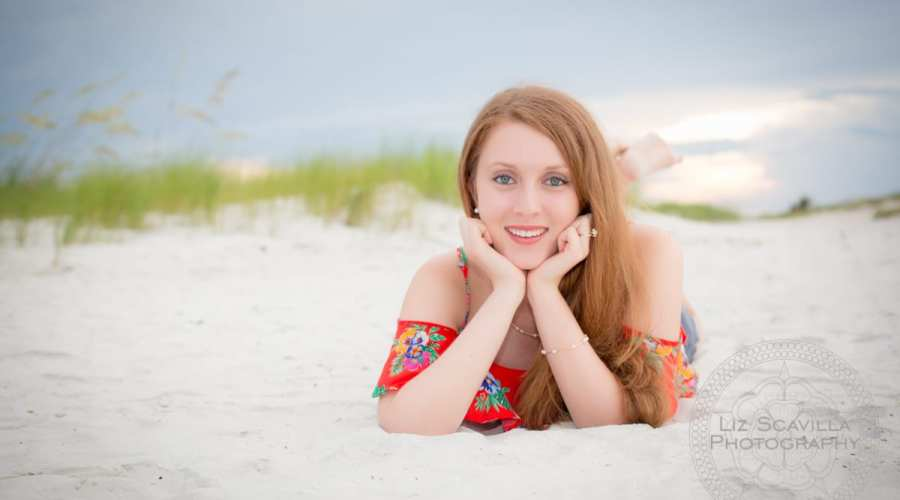 Abby's Ponce Inlet Senior Photos
