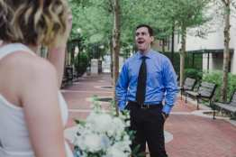 First Look Bryon Dierdre Courthouse Wedding Deland Liz Scavilla Photography-6