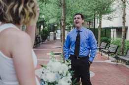 First Look Bryon Dierdre Courthouse Wedding Deland Liz Scavilla Photography-6