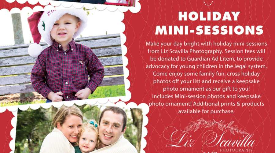 Limited Spots! Holiday Mini Photo Sessions Fundraiser