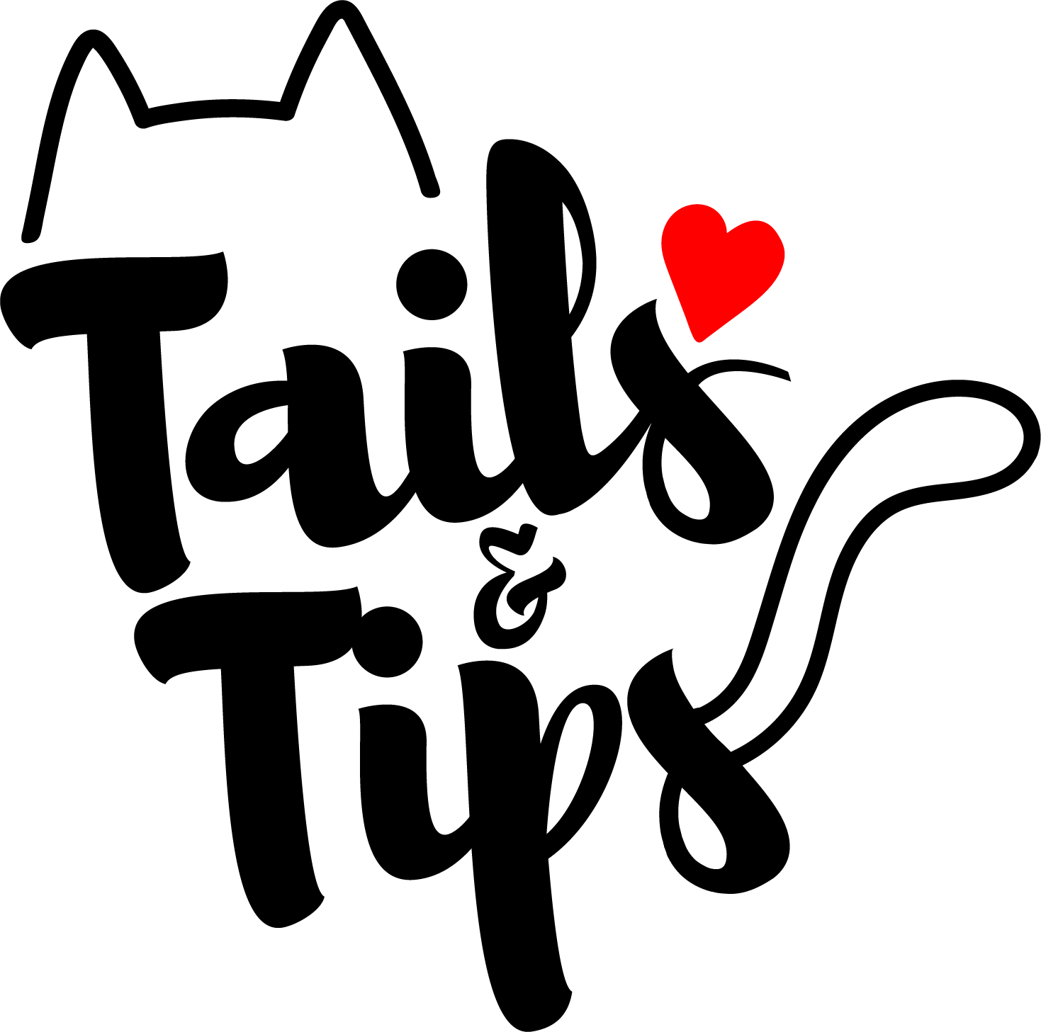 Tails and Tips Cat Blog Logo