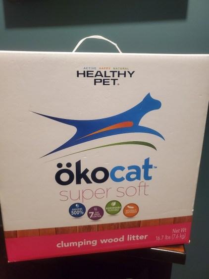 Box of cat litter