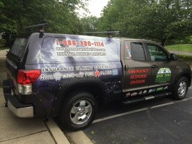 Truck Wrap Graphics - Home Town Rebuilders - Adobe Photoshop