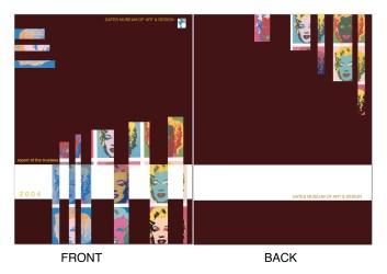 Museum Annual Report Cover Design