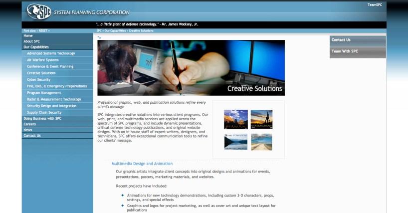 SPC Website Design