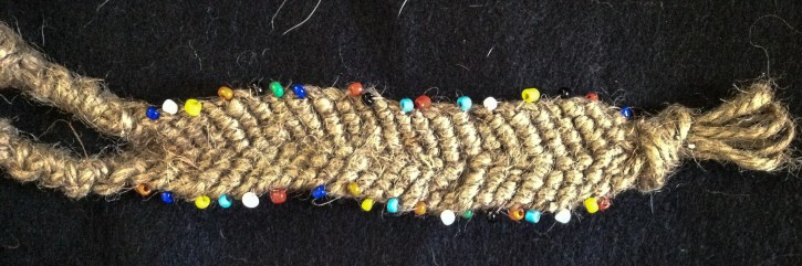 Jute and Beads