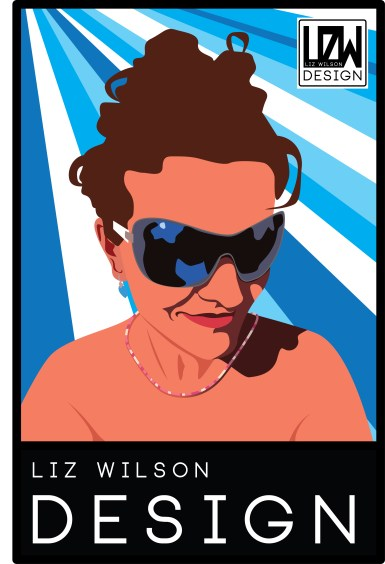 Vector Self Portrait on a Music Poster