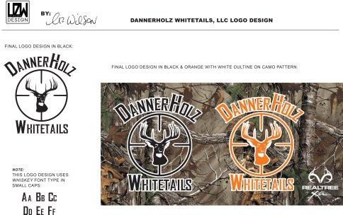 Logo Design - DannerHolz Whitetails, LLC