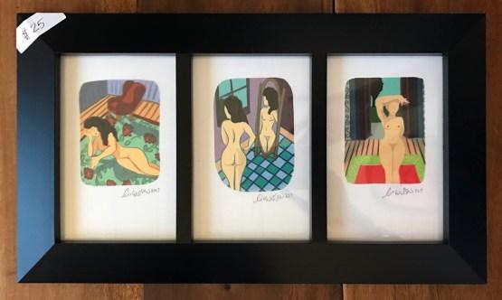 Framed iPad Illustrations